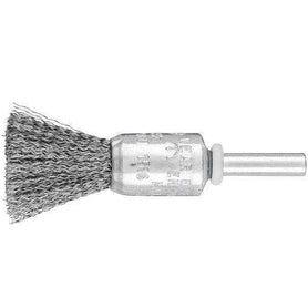Pferd Pencil Brush 6mm Shaft Mount Steel Wire PBU Crimped Steel Wire (1615847555144)