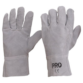 ProChoice All Chrome Leather Light, Fabrication Glove Large Pack of 12 (1444676763720)