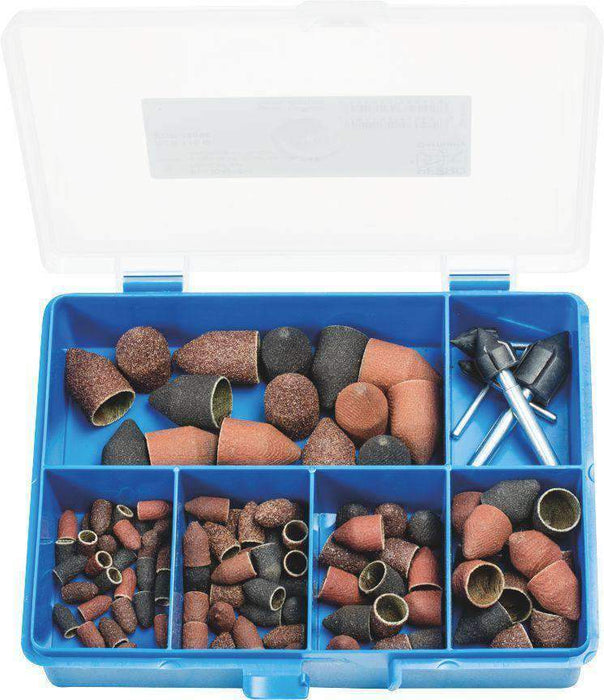 Pferd 110Pc Policap Abrasive Caps & Holders G Type Pcs 110 G (1442021638216)