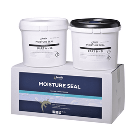 Bostik Moisture Seal Kit (PartA & B) Epoxy Water Vapour Barrier 10L