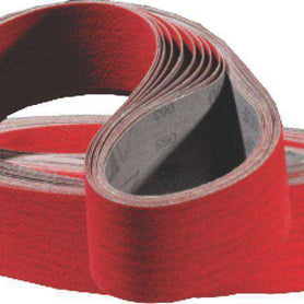 Pferd Linishing Belts Ceramic/Zirconia 100 x 1220mm 60 Grit Pack of 6 (1612350619720)
