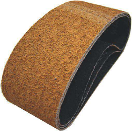 PFERD Portable Sanding Belts Yellow Cork 75 x 533mm Pack of 10 (1442283978824)