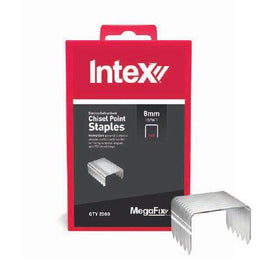 Intex Mega Fix  Heavy Duty Electro Galvanised Rapid Staples - Suits (3853835108424)