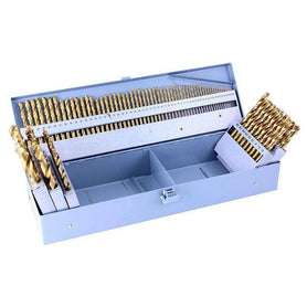 Sheffield Alpha 100 Pieces Metric Gold Series Drill Set 1.0-13.0mm