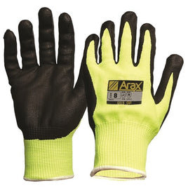 ProChoice Arax Gold, Nitrile Sand Dip On Hi-vis Yellow Liner (1444641505352)