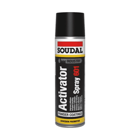 Soudal Activator Spray 601 - Non Porous Surfaces 500ml Box of 6 Cleaners & Solvents Soudal