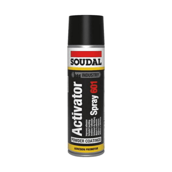 Soudal Activator Spray 601 - Non Porous Surfaces 500ml Box of 12 - SPF Construction Products