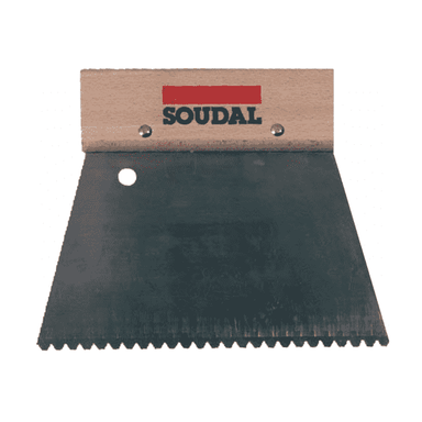 Soudal Trowels Box of 12 Floor Bonding Tools Soudal Fine (3mm)