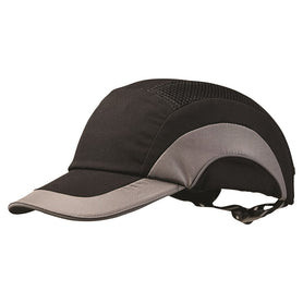 ProChoice Bump Cap with Fully adjustable Strap Black and Grey (1443289858120)