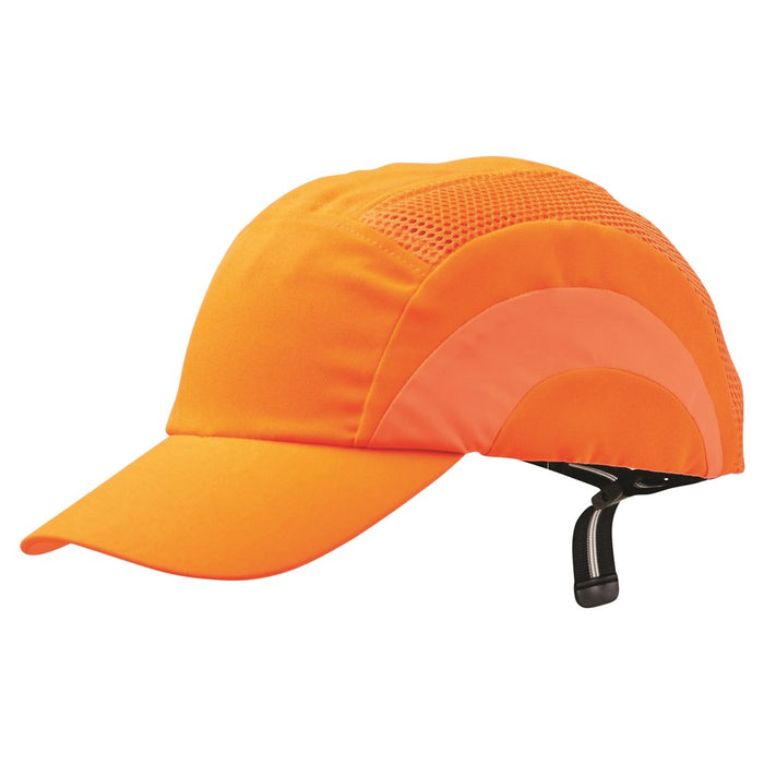 ProChoice Bump Cap Fluro Orange Lightweight with 100% Polyester (1443298803784)