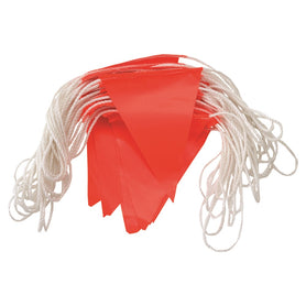 ProChoice 30m Hi-vis Is Fluro Pvc Triangle Flags Day Bunting (1445299060808)