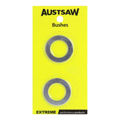 Sheffield Austsaw Bushes Aluminium Accessories - Carded Twin Pack