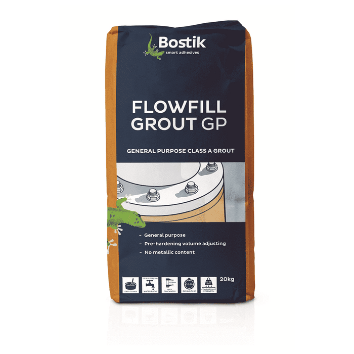 Bostik Flowfill Grout GP 20kg Bag of 1 Grouts Bostik