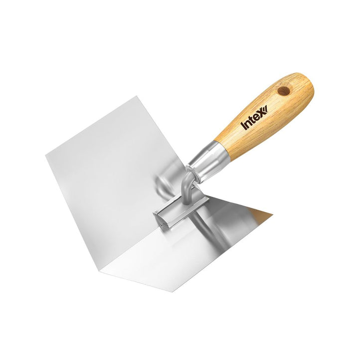 Intex PlasterX® 100mm Internal Corner Tool Stainless Steel