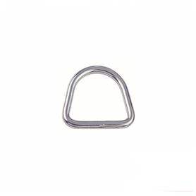Inox World Stainless Steel D Ring Welded A4 (316) Pack of 20 (4017908351048)