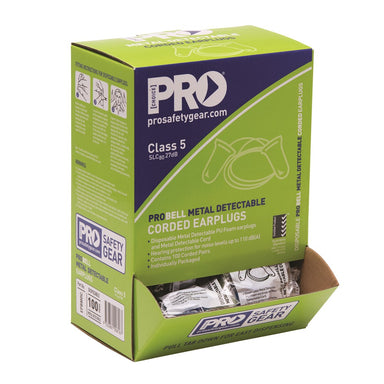 ProChoice Probell Metal Detectable Earplugs Corde