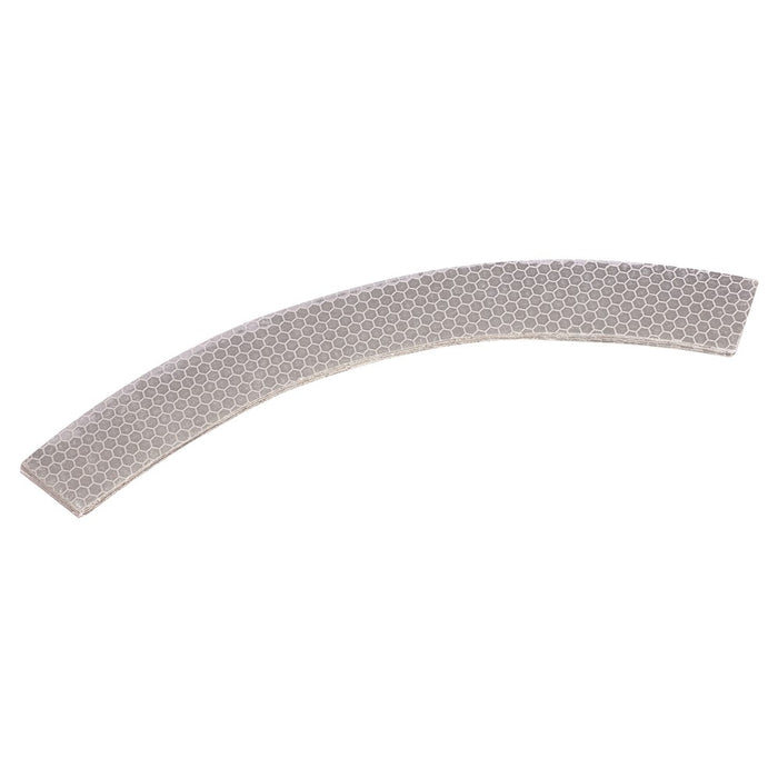 ProChoice Hard Hat Retro Reflective Silver Tape 25mm Curved 10 strips (1443725082696)