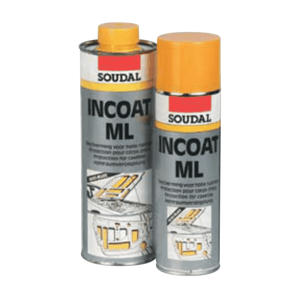 Soudal Incoat ML Aerosol 500ml Box of 12 - SPF Construction Products