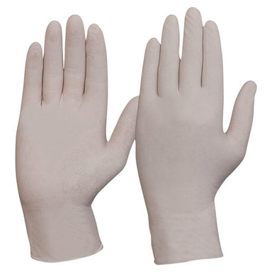 ProChoice Disposable Latex Powder Free Gloves Pack of 10 (1444655726664)