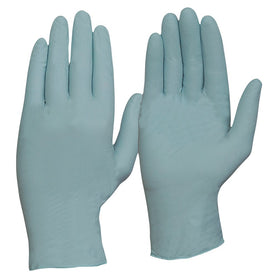 ProChoice Disposable Blue Nitrile Powder Free Gloves Pack of 10