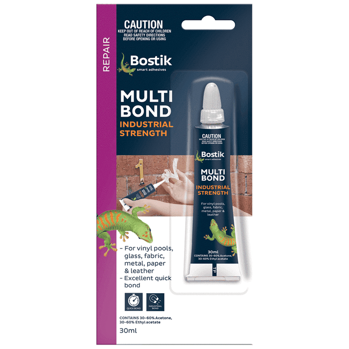 Bostik Multi Bond 30ml Tube Pack Nitrile Rubber Adhesive - SPF Construction Products