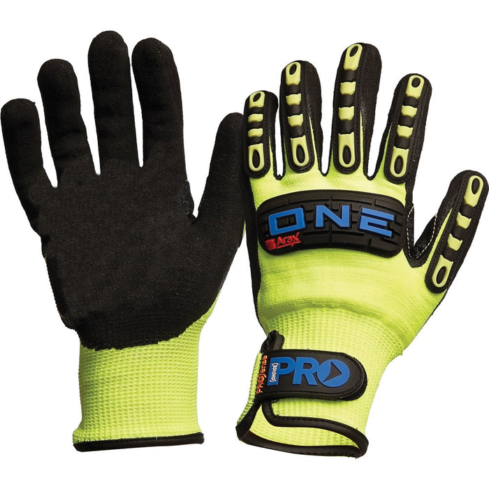 Prochoice Sand Finish Nitrile Dip with Seamless Arax Liner Gloves (1444642226248)