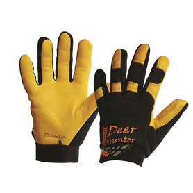 ProChoice Profit Deer Hunter Deerskin Gold leather Elastic cuff  Glove (1444680073288)