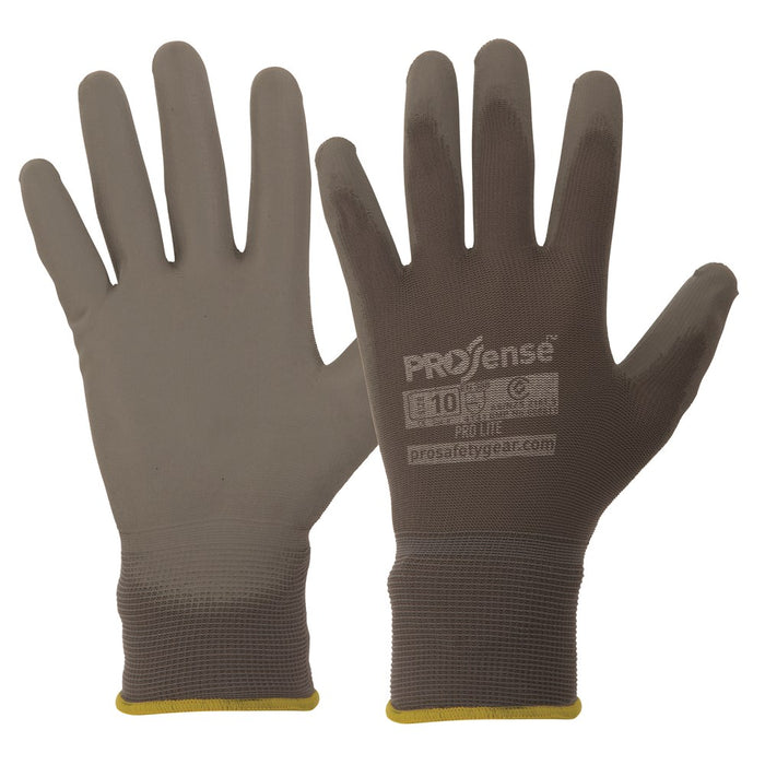 ProChoice Prosense Polyurethane Coated Palm Prolite Glove Pack of 12 (1445110579272)