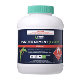 Bostik PVC Pipe Cement Type P Green Pack of 18 - SPF Construction Products