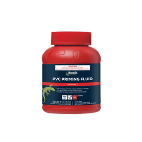 Bostik PVC Priming Fluid Red 250ml Box of 18 Plumbing Bostik