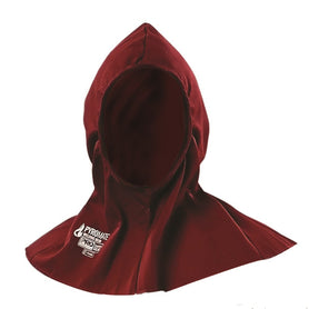 ProChoice Pyromate Welders Hood Maroon Pyrovatex Treated Cotton (1445210914888)