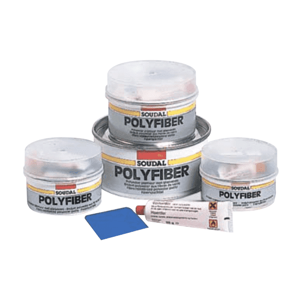 Soudal Polyfiber 1kg Box of 12 Epoxy Repair Soudal (1608301346888)