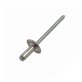 Inox World Rivet A2 (304) Large Flange Stainless Steel Pack of 500 (4018075828296)