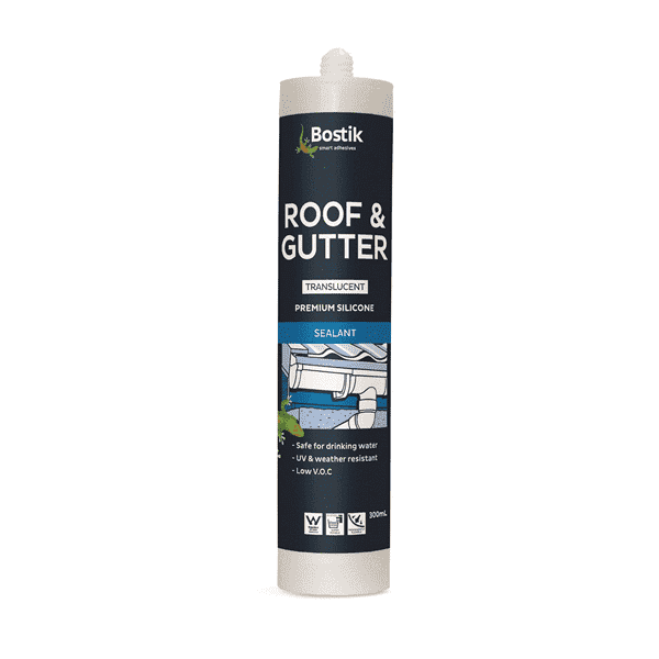 Bostik Roof & Gutter Silicone 300ml ctg Box of 6 - SPF Construction Products