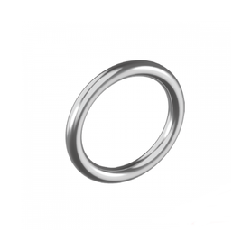 Inox World Stainless Steel Round Ring Welded A4 (316) Pack of 5 (4017908645960)