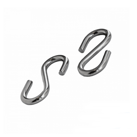 Inox World S Hook Symetric A2 (304) Pack of 10 (4012860080200)