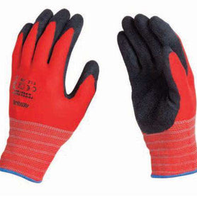 Intex Knitted Nylon Spandex Grip Glove w/ Crinkle Finish Latex Coating (3890488639560)