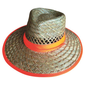 ProChoice Ventilated for maximum airflow and Hi-Vis Straw Hat (1443303096392)
