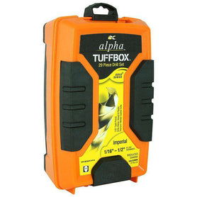 Sheffield Alpha 29 Pce Reduced Imperial Tuffbox Gold Jobber Drill Sets (1590181134408)