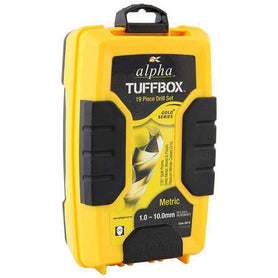 Sheffield Alpha Tuffbox Drill Set Metric Straight Shank Gold 19 Pieces (3960408080456)