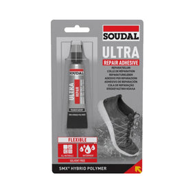 Soudal SMX Ultra Adhesive Crystal Clear 20ml tube Box of 10 (4518269878344)