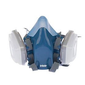 Intex Plasterx  Half Face Respirator with Twin Exhalation Valves (3890488016968)