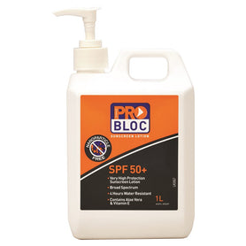 ProChoice Probloc 50+ Sunscreen 1 Litre