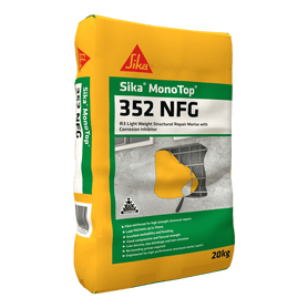 Sika MonoTop®-352 NFG R3 Light Weight High Build Concrete Repair
