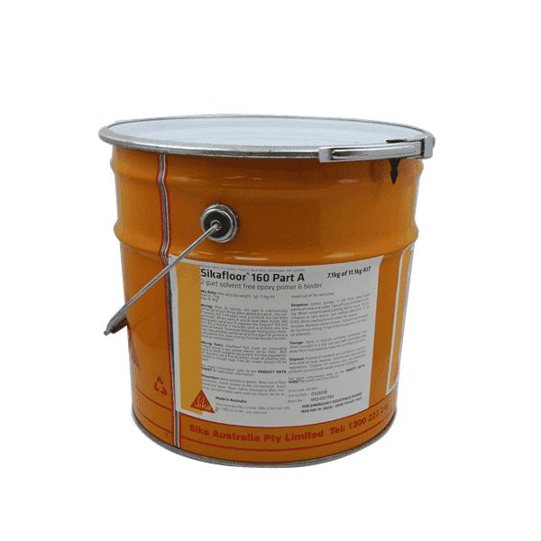Sikafloor 160 Part A 200kg (180L) Concrete Repair SIKA Default Title (1451605393480)