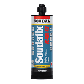 Soudal Soudafix VE400-SF 380ml Box of 12 Anchoring, Rigid and Epoxy Soudal