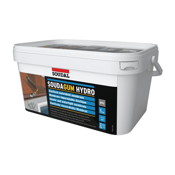 Soudal Soudagum Hydro Grey 1kg Box of 6 - SPF Construction Products