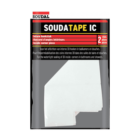 "Soudal Soudatape IC - 3D Bandage for ""internal"" corners Box of 10 Waterproofing Compounds Soudal  (1447122665544)"