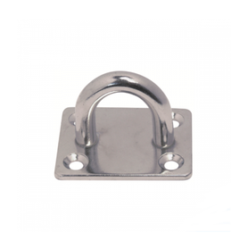 Inox World Stainless Steel Square Eye Pad A2 (304) Pack of 10 (4047757869128)