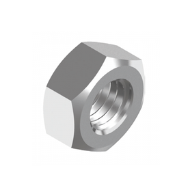 Inox World Stainless Steel Standard Hex Nut A4 (316) Pack of 5 (4024028102728)
